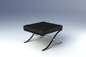 max barcelona stool