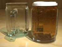 beer mugs 3d max