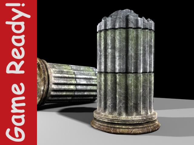 maya broken column