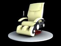 3dsmax massage chair