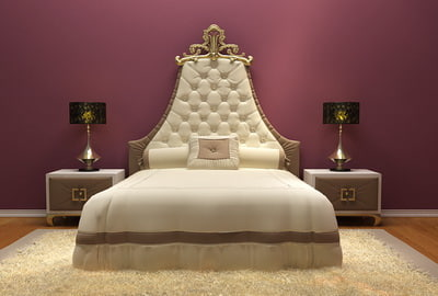 bed european-style luxury max