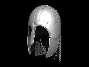 medieval helmet 3d max