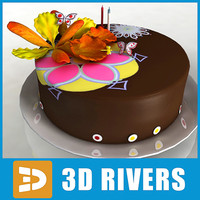 cake bake 3dr114 3d 3ds