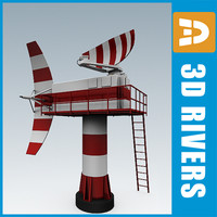 3d airport radar