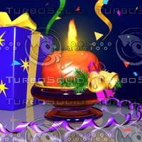 3ds max happy new year