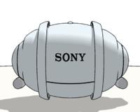 sony rolly 3d model