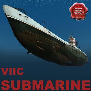 3ds max submarine viic