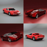 countach merak 3d 3ds