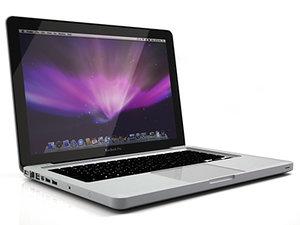 3d apple macbook pro led