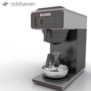 3ds max bunn coffee coffeemaker