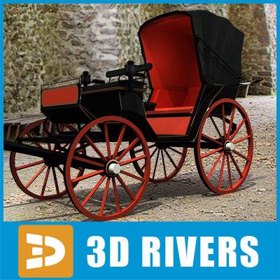 maya horse carriage