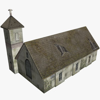 fantasy church 3d max