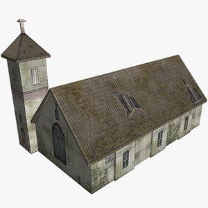 fantasy church 3d max