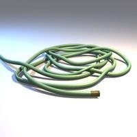 3d model garden hose