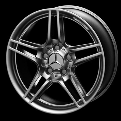 Mercedes Benz Wheel Rim Mercedes C 3d Model