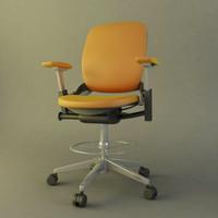 modern office chair obj