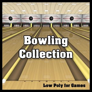 3d model bowling complete