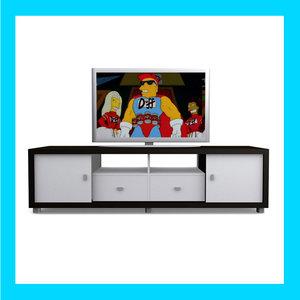 plasma television 3d max