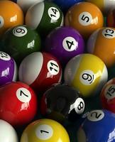 pool ball 3d max
