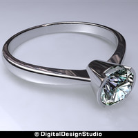 ring diamond 122 obj