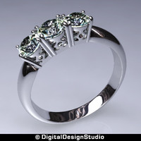 ring diamond 167 obj