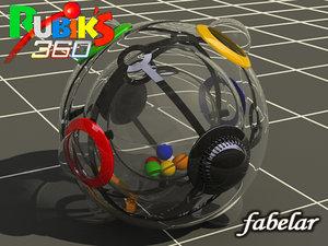 3d rubic 360 model