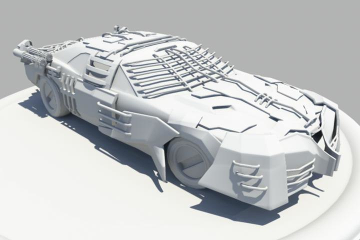 armored muscle car max