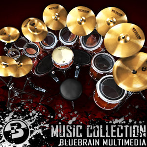 drum kit 3d max