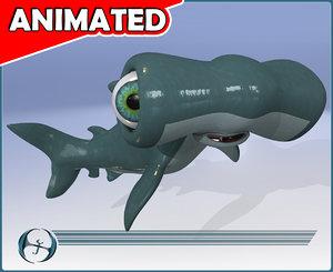 maya baby hammer head shark