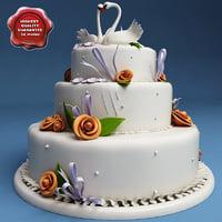 cake modelled 3d model