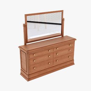 design dresser 3d model