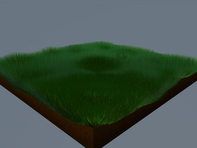 cinema4d grass