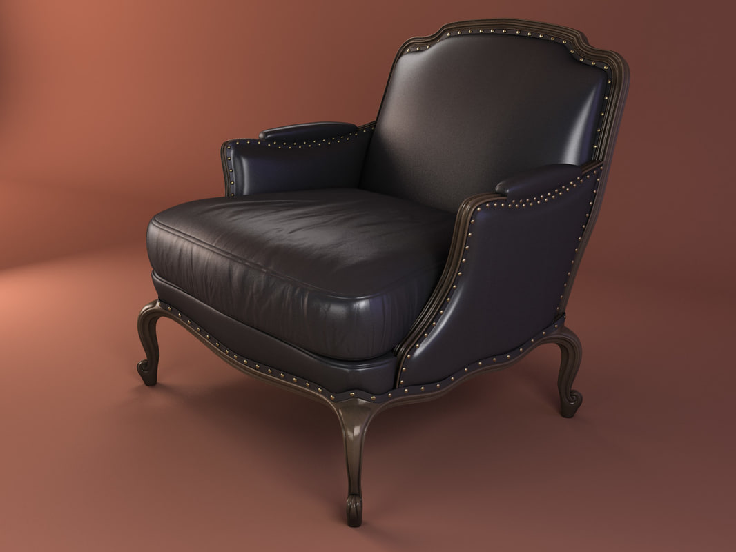 3d armchair pigra model