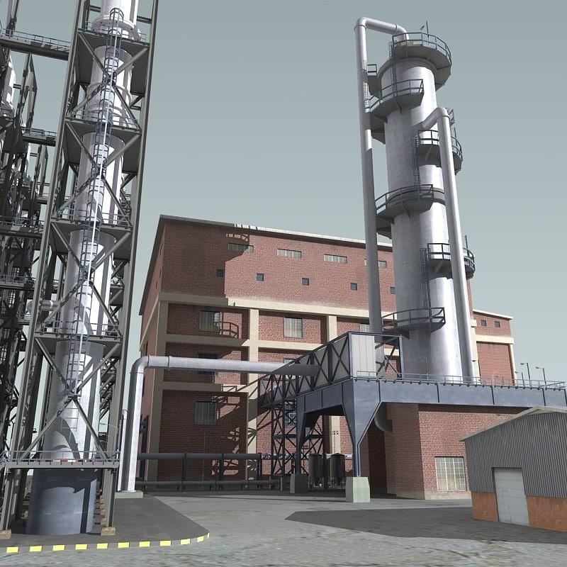 refinery 3d max