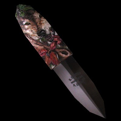 3d knife battle model