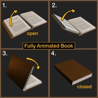 3d max book position pages