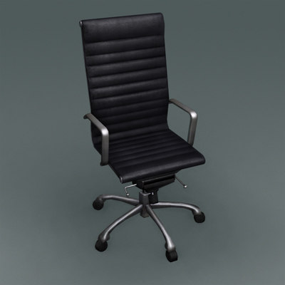 soft pad chair 3d model