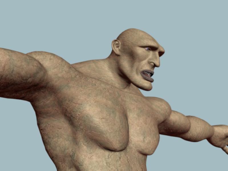 3d model giant