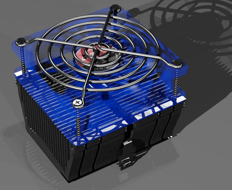heat cpu cooler max