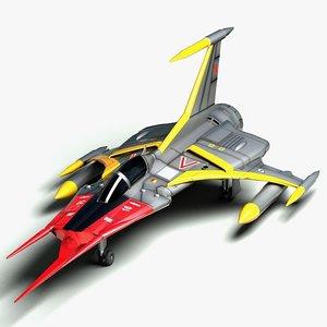 3ds max yamato cosmo zero space cruiser