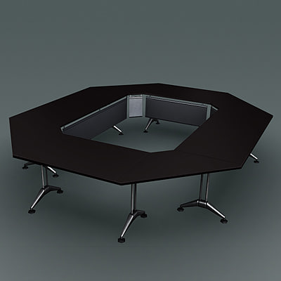 3d model conference table