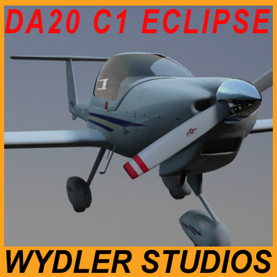 3d plane diamond da20 c1 model