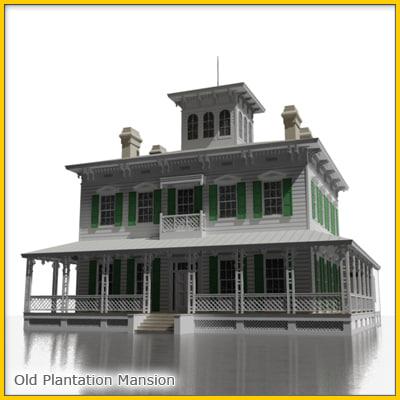 plantation estate 3d max