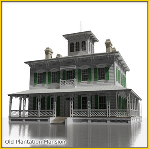 plantation estate 3d max