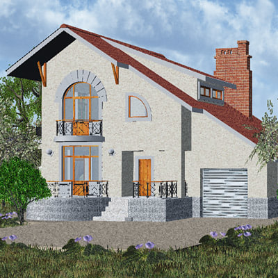 3d model of house homes