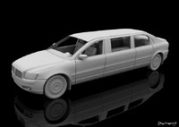 limo 3d model