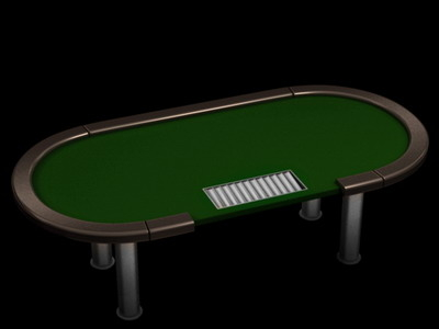 poker tournament table 3d 3ds