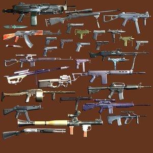 weapons machine guns max