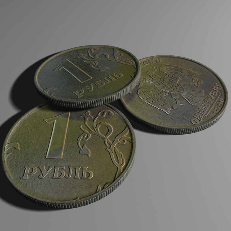 3d model rubl 1