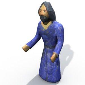 3d model holy josef